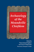 Archaeology of the Moundville Chiefdom Cover