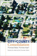 City--County Consolidation Cover