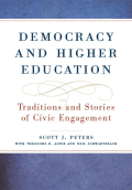 Democracy and higher education  Cover