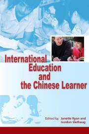 International Education and the Chinese Learner