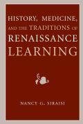 History, Medicine, and the Traditions of Renaissance Learning Cover