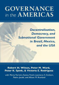 Governance in the Americas Cover