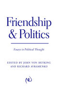 Friendship and Politics Cover