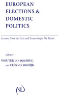 European Elections and Domestic Politics Cover