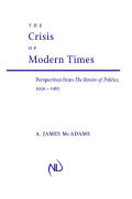 The Crisis of Modern Times Cover