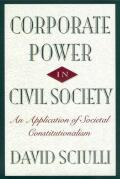 Corporate Power in Civil Society cover