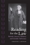 Reading for the Law: British Literary History and Gender Advocacy