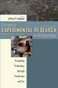 Designing Experimental Research in Archaeology cover