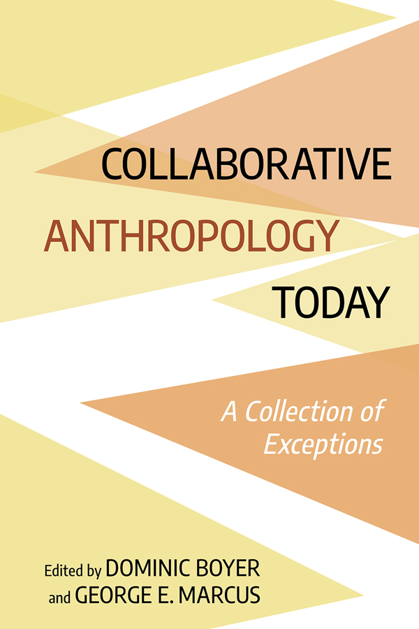 Collaborative Anthropology Today