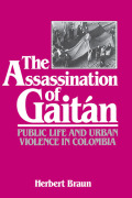 The Assassination of Gaitán Cover