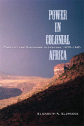 Power in Colonial Africa Cover
