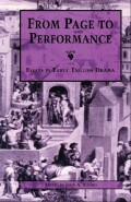 From page to performance Cover