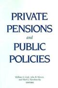 Private Pensions and Public Policies cover