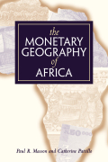The Monetary Geography of Africa cover