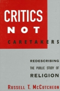 Critics Not Caretakers Cover