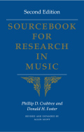 Sourcebook for Research in Music, Second Edition
