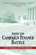 Inside the Campaign Finance Battle cover