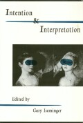 Intention Interpretation