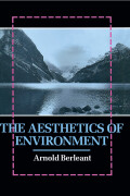 The Aesthetics of Environment Cover