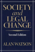Society And Legal Change 2Nd Ed