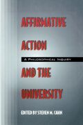 Affirmative Action and the University Cover