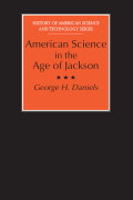 American Science in the Age of Jackson Cover