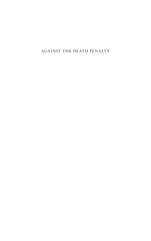 the death penalty against the use