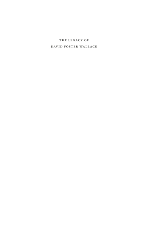 david foster wallace language essay David foster wallace brings his intellectual ambition and characteristic bravura style to the story of how mathematicians have and language: an essay on free will.