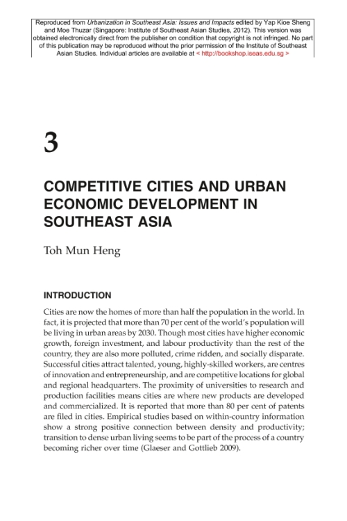 an introduction to the growth of economy in southeastern asian countries