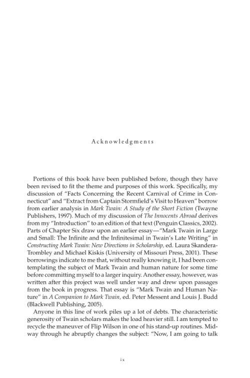 mark twain 15 essay