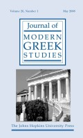 <i>Greek Naval Strategy and Policy 1910–1919</i> (review)