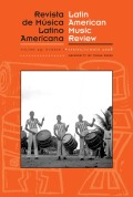 <i>Music in Latin America and the Caribbean: An Encyclopedic History</i>. Volume 1, <i>Performing Beliefs: Indigenous Peoples of South America, Central America, and Mexico</i> (review)