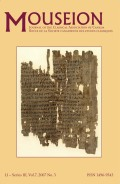 <i>Greeks and Pre-Greeks. Aegean Prehistory and Greek Heroic Tradition</i> (review)