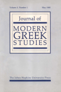 <i>Occupation and Resistance, The Greek Agony 1941–44</i> (review)