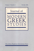 <i>Britain, Greece and the Politics of Sanctions: Ethiopia, 1935–1936</i> (review)