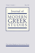 <i>The United States and the Greek War for Independence, 1821–1828</i> (review)