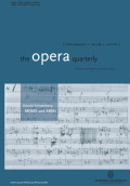 <i>The Cambridge Companion to Twentieth-Century Opera</i> (review)