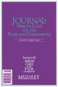 Patterns of Hospital and Physician Utilization among the Uninsured