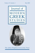 The Patriarchal Crisis of 1910 and Constitutional Logic: Ottoman Greeks' Dual Role in the Second Constitutional Politics