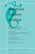 <i>Chesnutt and Realism: A Study of the Novels</i> (review)