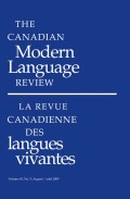 To Like or Not to Like! Student Perceptions of Technological Activities for Learning French as a Second Language at Five Canadian Universities