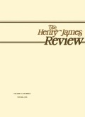 <i>Henry James's American Girl: The Embroidery on the Canvas</i> (review)