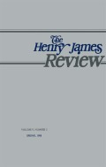 <i>Henry James and the Art of Power</i> (review)