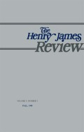 <i>Henry James: The Writer and His Work</i> (review)