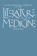 Literature and Medicine, Future Tense: Making it Graphic