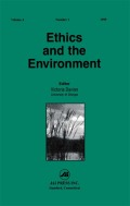 Luc Ferry's Critique of Deep Ecology, Nazi Nature Protection Laws, and Environmental Anti-Semitism