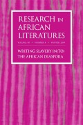 Writing Africa under the Shadow of Slavery: Quaque, Wheatley, and Crowther