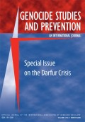 The UN International Commission of Inquiry on Darfur: New and Disturbing Findings