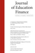 A Comparison of Spatial Statistical Methods in a School Finance Policy Context