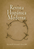 <i>Territories of History: Humanism, Rhetoric, and the Historical Imagination in the Early Chronicles of Spanish America</i> (review)